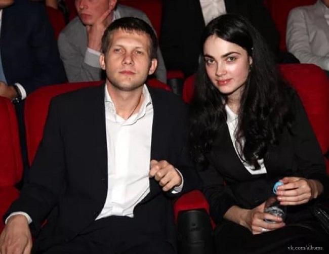 Борис Корчевников и Анна Сесиль-Свердлова