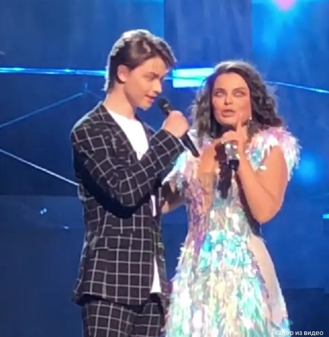 Natasha Koroleva's son took up tutoring