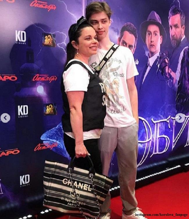 Natasha Koroleva with her son - https://z-aya.ru