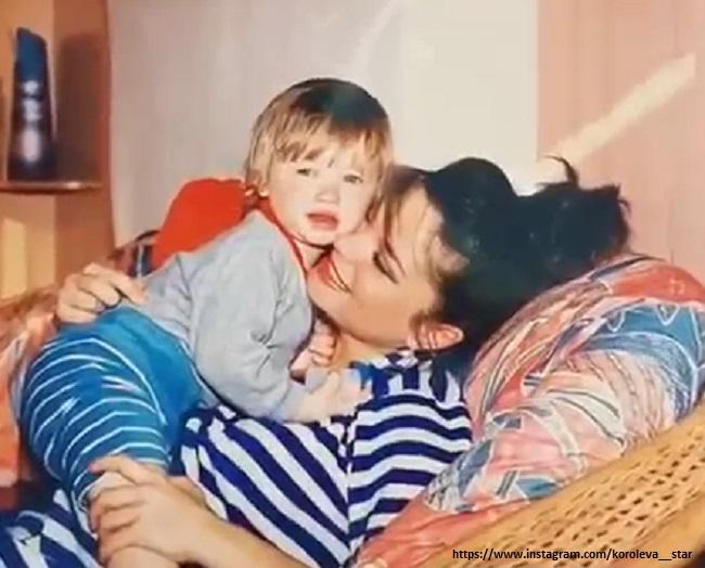 Наташа Королева с сыном 2003 год