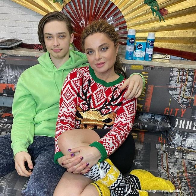 Наташа Королева с сыном - https://z-aya.ru