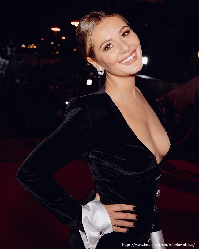 Maria Kozhevnikova was criticized for a candid outfit