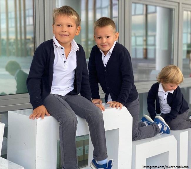 Сыновья Марии Кожевниковой и Евгения Васильева