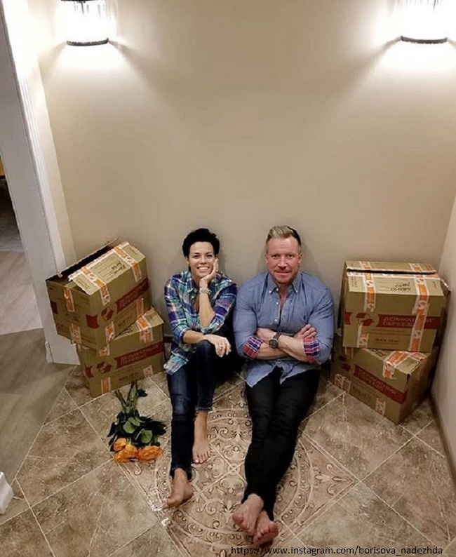 Алексей Кравченко с женой готовиться готовиться к перезду