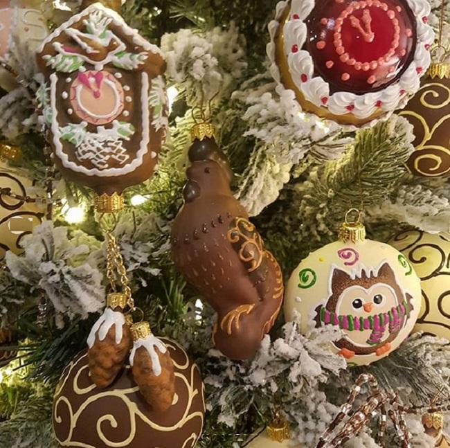 Шоколадные игрушки Елены Ксенофонтовой
