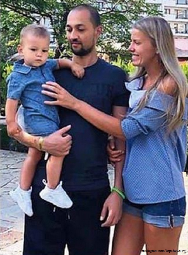 Сын Леры Кудрявцевой с семьей