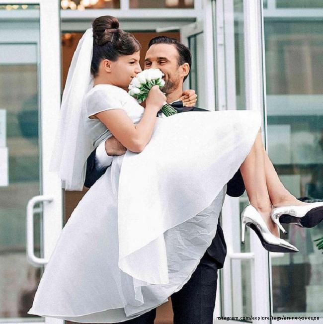 агния кузнецова и максим петров фото свадьба