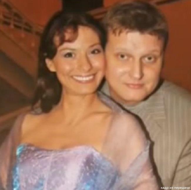 Иирана Лачина с мужем