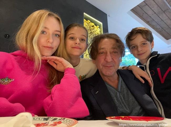Григори Лепс с детьми