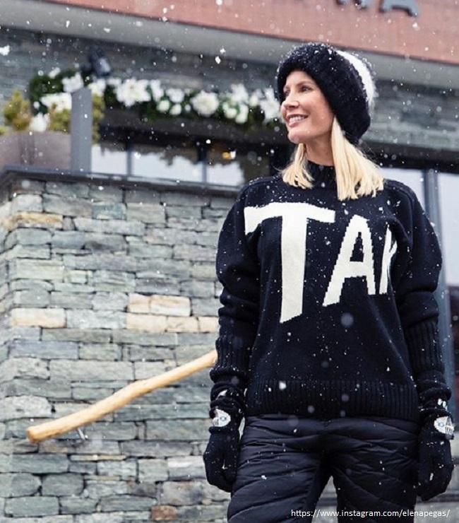 Елена Летучая устроила фотосессию в купальнике под снегом