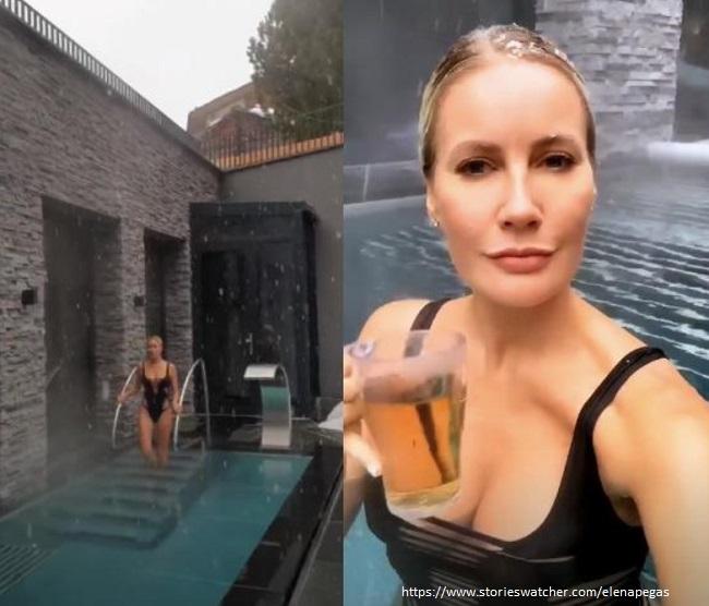 Елена Летучая в купальнике