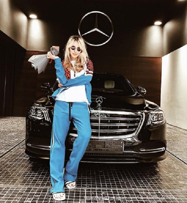 Светлана теперь будет разъезжать на роскошном автомобиле S-класса