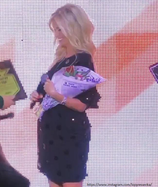 Беременная Виктория Лопырева