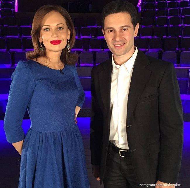 Антона Макарский с женой