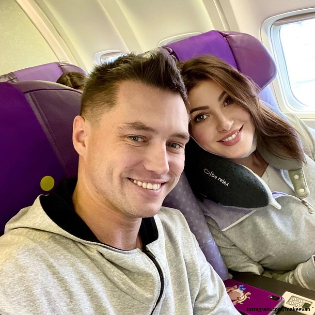 Anastasia Makeeva with a new lover