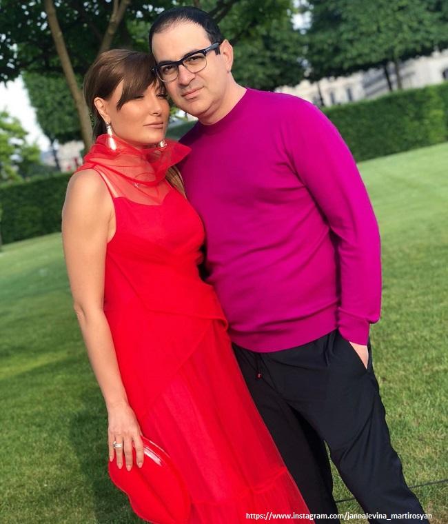 Гарик Мартиросян с женой