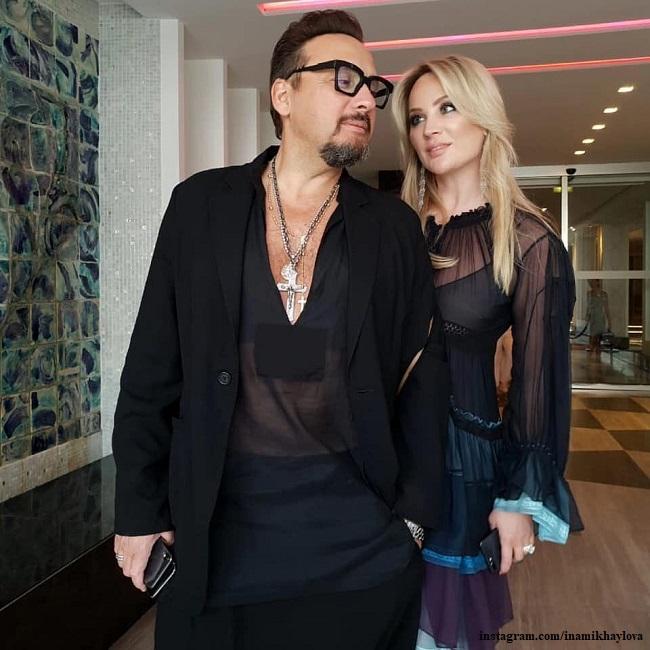 Стас Михайлов с женой
