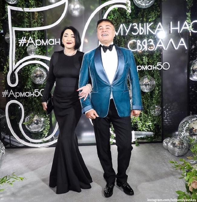 Лолита Милявская и Арман Давлетьяров