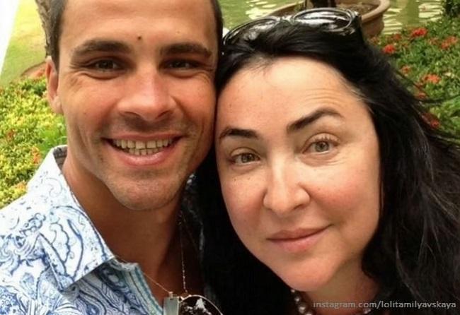 Лолита Милявская с бывшим мужем