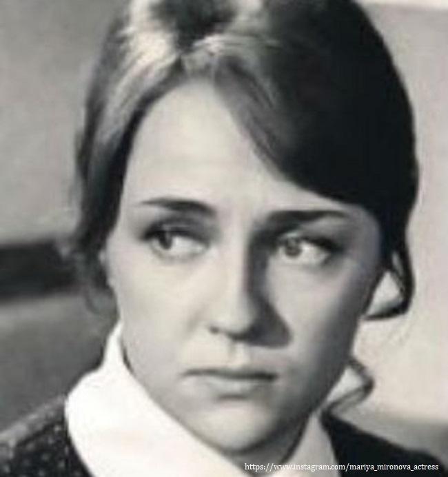 Мама Марии Мироновой