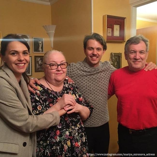 Семья Марии Мирновой