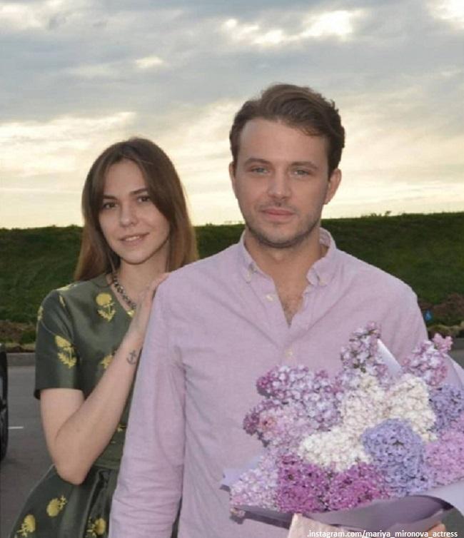 Андрей Удалов с женой