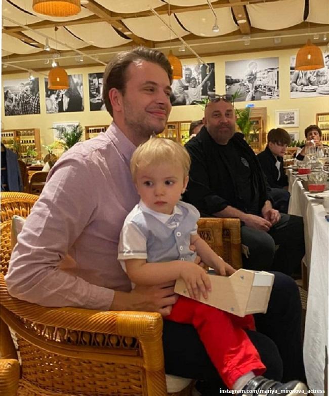 Андрей Удалов с братом Федей
