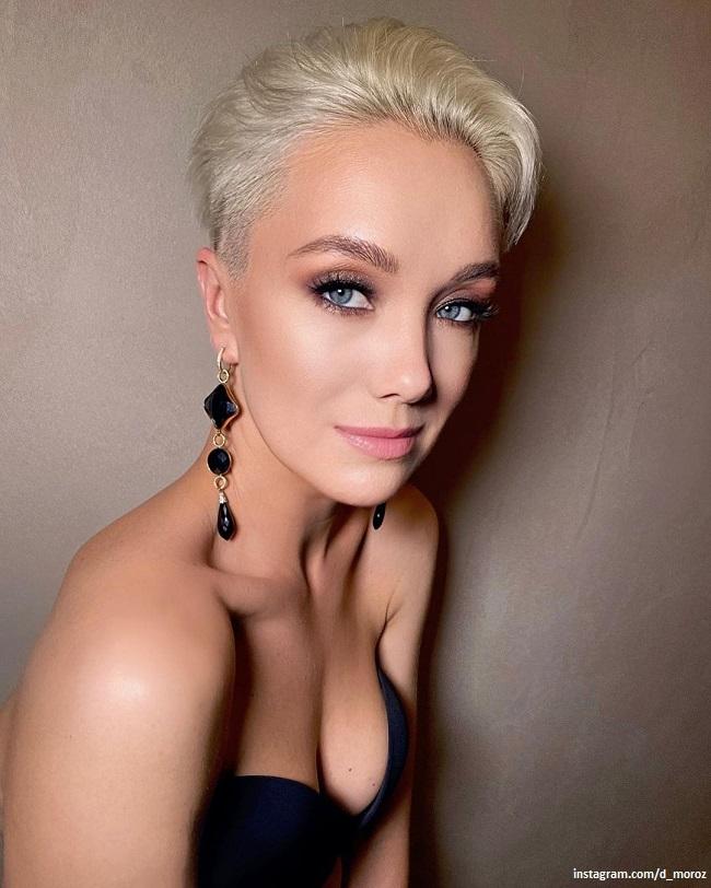 Daria Moroz showed grown up daughter and sister