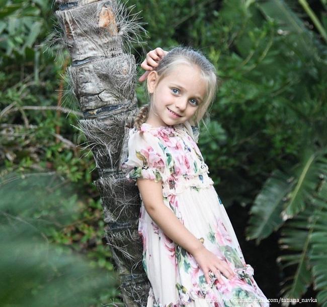 Дочь Татьяны Навки - Надежда