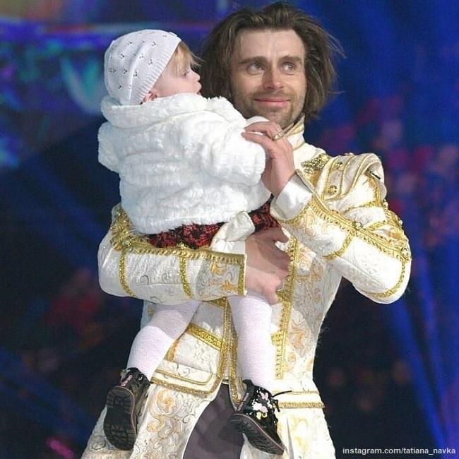 Петр Чернышев с дочерью Милой
