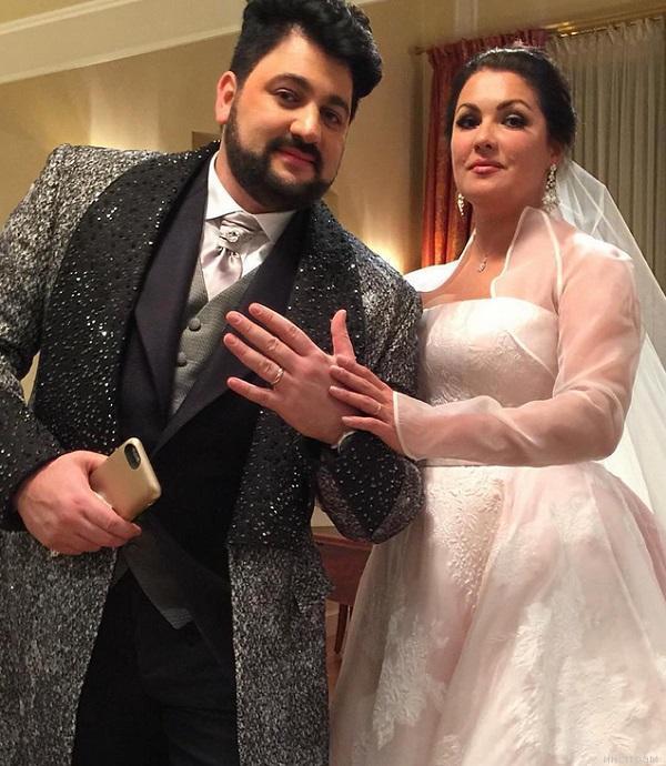 Анна Нетребко с мужем
