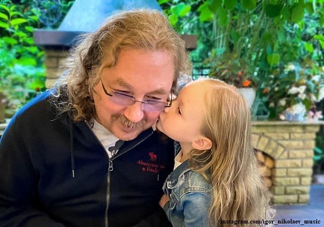 Игорь Николаев с дочерью Вероникой