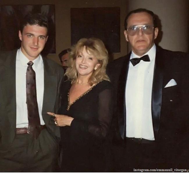 Эммануил Виторган и Алла Балтер с сыном Максимом