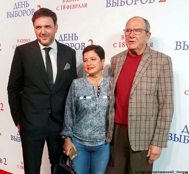 Максим и Эммануил Виторганы и Ирина Млодик