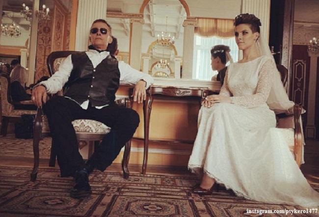 Иван Охлобыстин с дочерью Евдокией