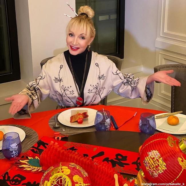 Кристина Орбакайте отмечает китайский Новый год