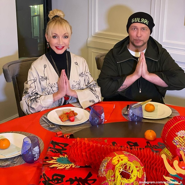 Кристина Орбакайте и Игорь Гуляев