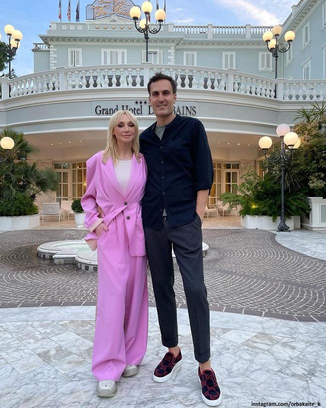 Кристина Орбакайте и Михаил Земцов в Италии