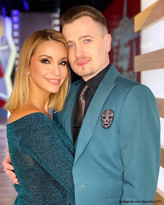 льга Орлова и Влад Кадони