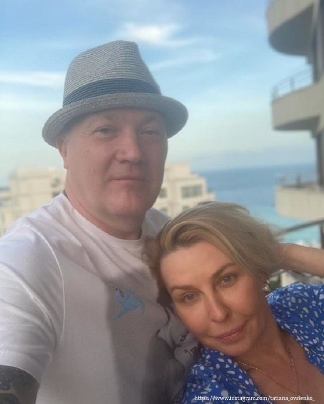 Tatyana Ovsienko showed an idyll after rumors about family problems