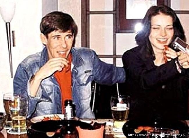 Панин с Мариной Александровой