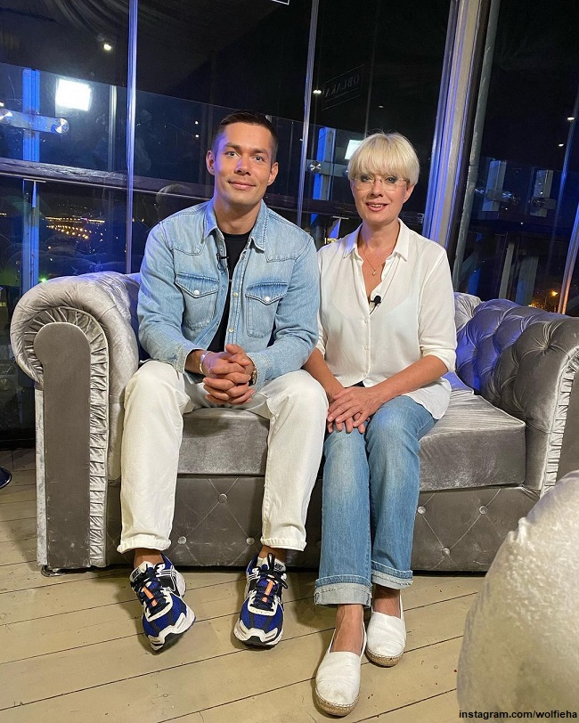 Стас Пьеха с мамой Илоной Броневицкой