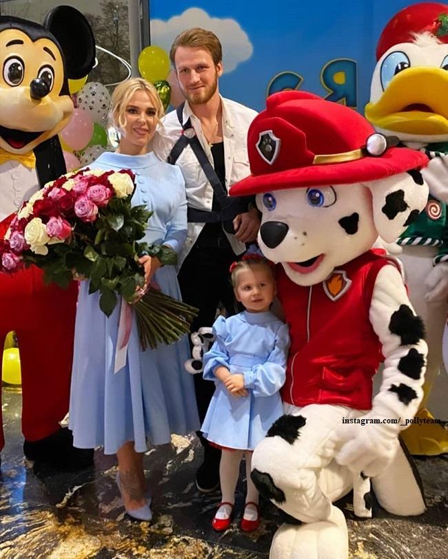 Пелагея и Иван Телегин с дочерью Таисией