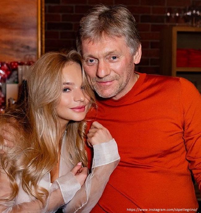 Elizaveta Peskova's mother showed her rare photos of twenty years ago with her father