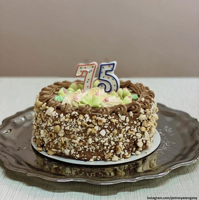 Yevgeny Petrosyan's birthday cake