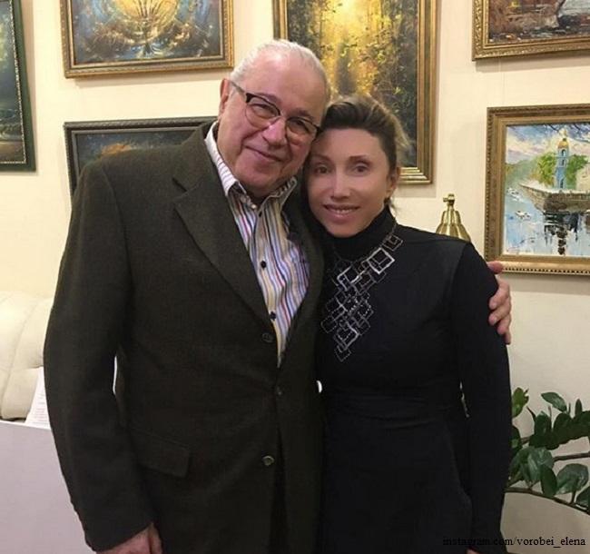 Евгений Петросян и Елена Воробей