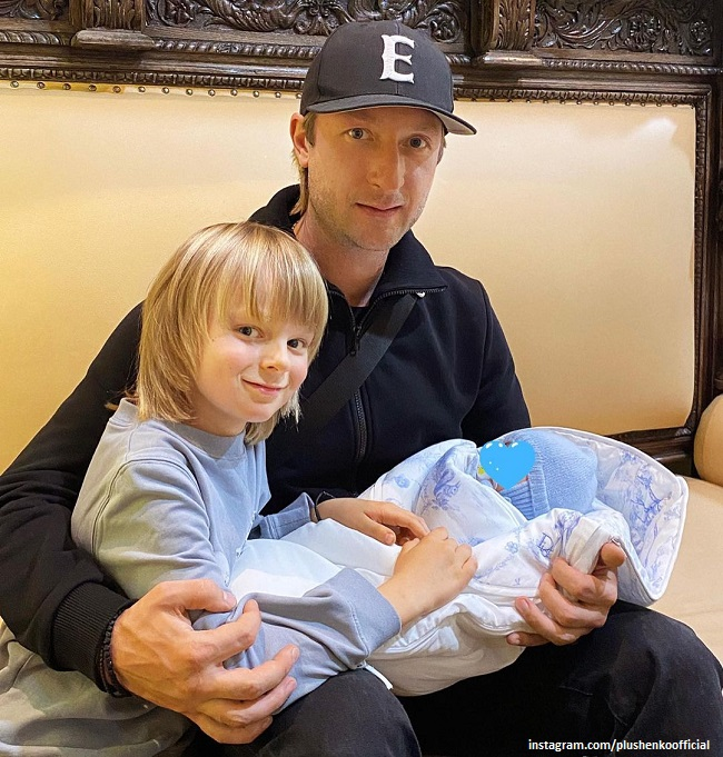 Evgeni Plushenko spoke about the changes in his life in connection with the appearance of a newborn son