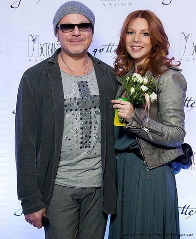Наталья Подольская с мужем