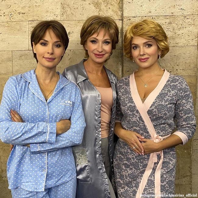 Ирина Лачина, Ольга Прокофьева и Мария Порошина