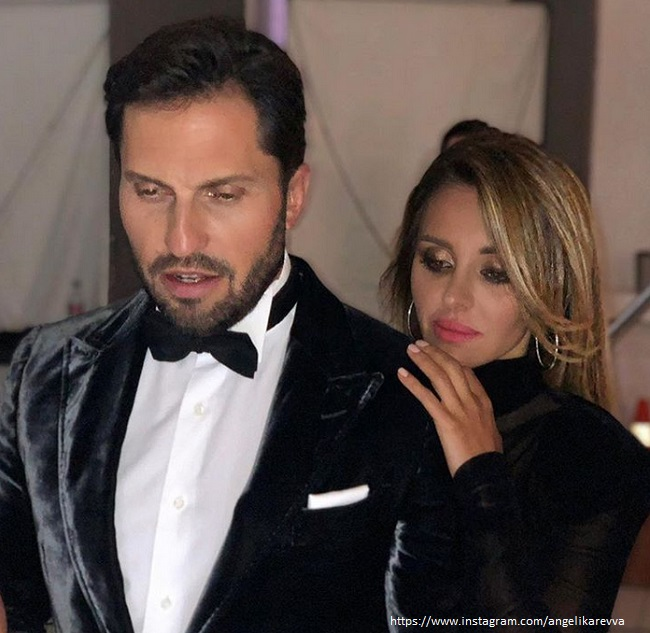 Александр Ревва с женой